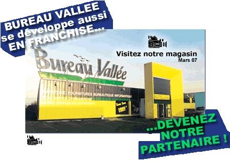 Premire Pub TV pour Bureau Vallee